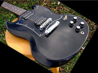 Solid Body 6 Strings Mahogany best Factory Mahogany guitar USA SG Special Ebony Gloss Black Finish Alnico IIV 490 Humbuckers Plek'