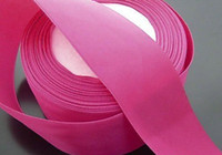Silk ribbon red ribbon rose - 225meter mm Width Rose Red Fabric Silk Ribbon Decorations For Happy Time