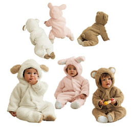 New!12pcs Toddler Baby Girls Boys Animal Hooded Outfit One-piece Romper Infant Winter Playsuits Coat