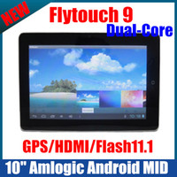 Wholesale Flytouch Dual Core GPS MID inch Amlogic GHz WiFi Tablet PC Android SuperPAD GB