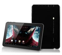Bon Marché Wifi externe-9quot; Sanei N91 Elite Android 4.0 Tablet PC Allwinner A13 cadencé à 1 GHz 8 Go Wifi double caméras 3G externe