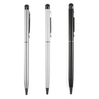 Wholesale Metal Stylus Touch Pen Ink for Apple IPhone G GS S G Ipad ipod IN1 DHL Ship