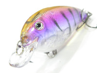 Wholesale Fishing Lure Crankbait Hard Bait Fresh Water Shallow Water Bass Walleye Fishing Tackle C56X52