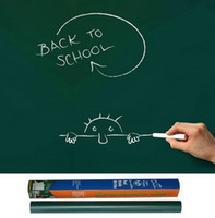 Wholesale Self adhesive PVC solid color blackboard wallpaper graffiti board blackboard wallpaper wall sticker