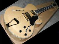 6 Strings bigsby - best new Arrival Natural Custom VOS jazz electric guitar with Bigsby in stock HOT