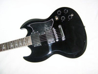 Solid Body 6 Strings Mahogany New Brand Electric Guitar Black SG Tonny