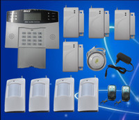 Wholesale 2012 New Popular GSM Wireless Burglar Alarm Home Security Systems LCD Auto Dialer S212