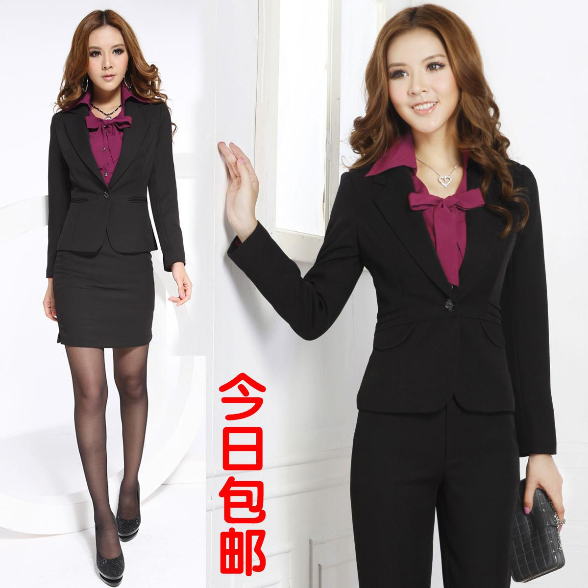 Long Sleeve Women Suits Autumn Ol Professional Women's Work