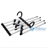 Wholesale Magic Trousers Hanger Multifunction Metal Folding Pants Hanger