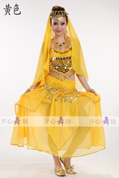 Wholesale Indian belly dance skirt belly dance costume sexy belly dance costume set belly dance dress
