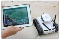 Wholesale Wifi CH Instant RC Tank Car controlled by iPhone Android mobile phone w Live Video Camera S632