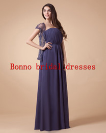 Wholesale Charming Sheath Strapless Chiffon Evening Formal Dress