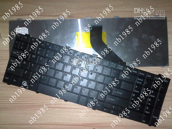 Wholesale - Fujitsu Lifebook A530 AH530 AH531 NH751 US keyboard black