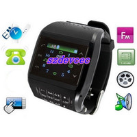Wholesale Avatar ET Single Sim Card Watch Cell Phone Ebook Reader FM MP3 MP4 Quad Band Unlocked Mobile Phone
