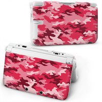 Wholesale Nintendo DS XL Cases Protector Cover Cool Fashion Cover Cases Many Designs Mix Order Red Patterns