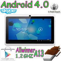 Wholesale 10pcs OEM Allwinner A13 Haipad Capacitive G G Touch screen Android OS Boxchip A13 Tablet PC
