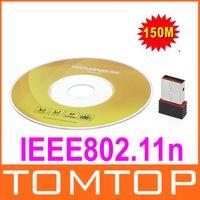 wireless adapter - On Sales Portable WiFi Wireless N n NANO Tiny USB Adapter Network Card M C1008