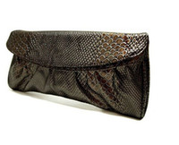 Wholesale women shandbag Snakeskin shoulder Clutch purses Evening bag fashion PU leather