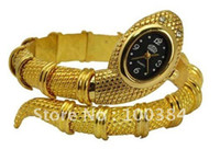 Wholesale off per order New style snake Quartz bangle woman watch Fashion women watche