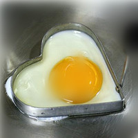 Wholesale package stainless steel heart egg fried device size cm fried eggs kitc