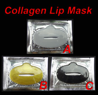 Wholesale 50pieces Collagen Crystal Lip Mask Face Masks Care A B C