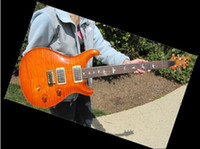 Solid Body santana - Best Selling Custom Shop th santana Honey burst Pickup Electric Guitar OEM From China