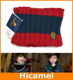 Wholesale 2013 New Arrival Fashion Baby Knitting Woolen Ring Scarf Boys Girls Lovely Winter Scarf Colors DWJ8179
