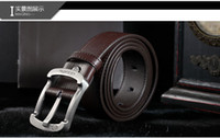 Wholesale Belts Mens Ladies Fashion Leather Belt Good Quality Mix Order New arrival Online Sale J010