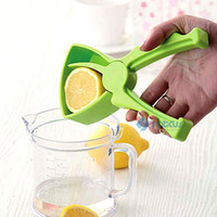 Wholesale Orange Citrus Lemon Manual Fruit Juicer Juice Squeezer Green