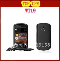 Wholesale WT19i Original Live with Walkman WT19i MP WIFI GPS Bluetooth Unlocked Mobile Phone In