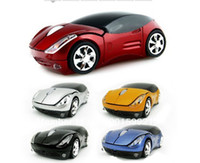 2.4Ghz Wireless car shape wireless mouse - cool hot selling Race Car Shaped Wireless car mouse cordless mice FACTORY SALES DIRECTLY