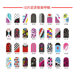 Wholesale 50 sheets sheet different styles nail stiker nail art convenient nail sticker drop shippng