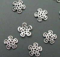 Wholesale 240Pcs Tibetan Silver Filigree Bead Caps Findings mmx12mmx3mm
