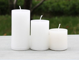 Wholesale Popular Classic Pillar candles birthday gift wedding supplies
