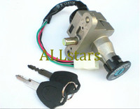Ignition Switch   Free Shipping Brand New Motorcycle Electric bike Scooter Ignition Switch Rear Seat Cover Lock Set