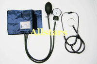 Wholesale ANEROID Adult Size Blood Pressure BP Cuff Set Sphygmomanometer Stethoscope Kit