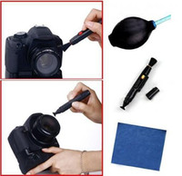 Wholesale GHJB06 cleaning kit for camera laptop dust blowe lens pen cleaning cloth blister pacakge