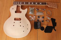 Wholesale NEW BRAND LP ELECTRIC PROJECT GUITAR KIT WITH PARTS