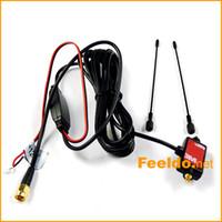 Precio de Car antenna amplifier-10set / lot para el coche SMA Antena activa con amplificador incorporado para TV digital, fácil de instalar