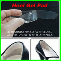 Wholesale Best price pairs Shoe Heel Paste Silicone Gel Anti Slip Pad Insole Foot Care Protector