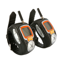 Wholesale Multi channels Wrist Watch Style With Adjustable Band Walkie Talkie Up to miles range