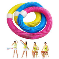 Wholesale Hula Hoop Spring Exerciser Tool Fitness Gym Workout Yoga Equipment Device Dance D17