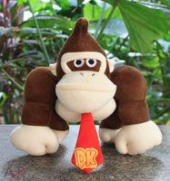 "EMS Super Mario Bros Plush Toy Donkey Kong 8"" inch Figu..."