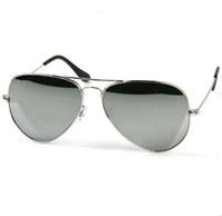 Wholesale Men s Women s sunglasses designer Sunglasses Silvery frame Mirror Lens mm