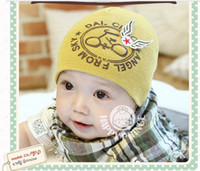 Wholesale Children Hat girl cap bicycle caps autumn warm boy hat Korean kid Accessories lovely baby hats
