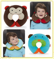 Wholesale Children neck support pillow toys kids neck Guard rug infant pillows baby plush toy