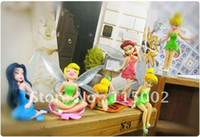 Wholesale High Quality PVC set Tinkerbell Fairy Adorable tinker bell Figures