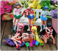Wholesale High Quality Anime Sailor Moon Cartoon PVC Figure Toy set