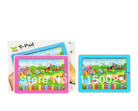Wholesale Kid s Educational Toys Y Pad Farm Animal sound English Tablet Computer Learning Machine Touch Screen