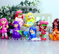 Wholesale New STRAWBERRY SHORTCAKE Set of Action Figure Toys Retail Dropshipping